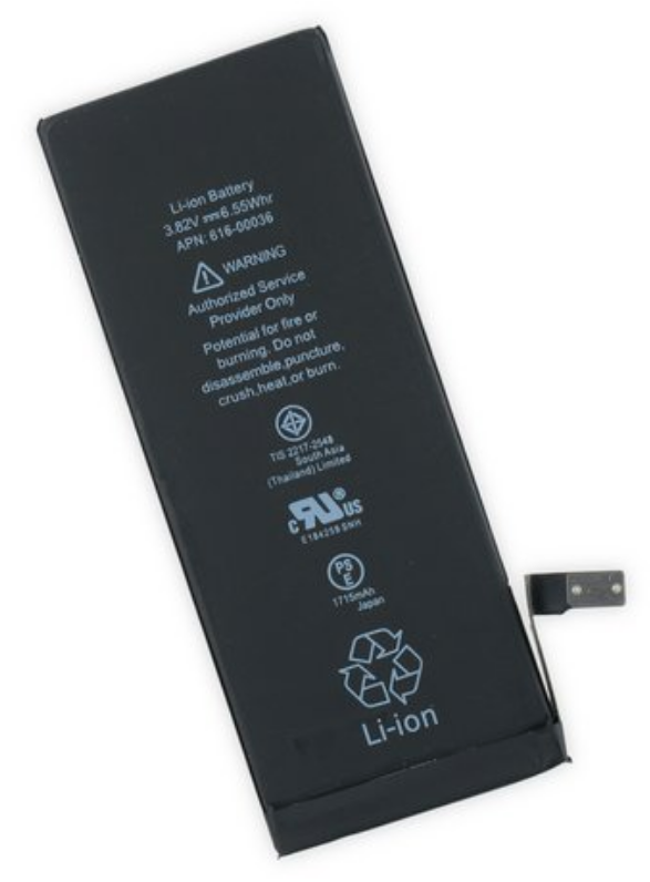 【iPhone6P】バッテリー
