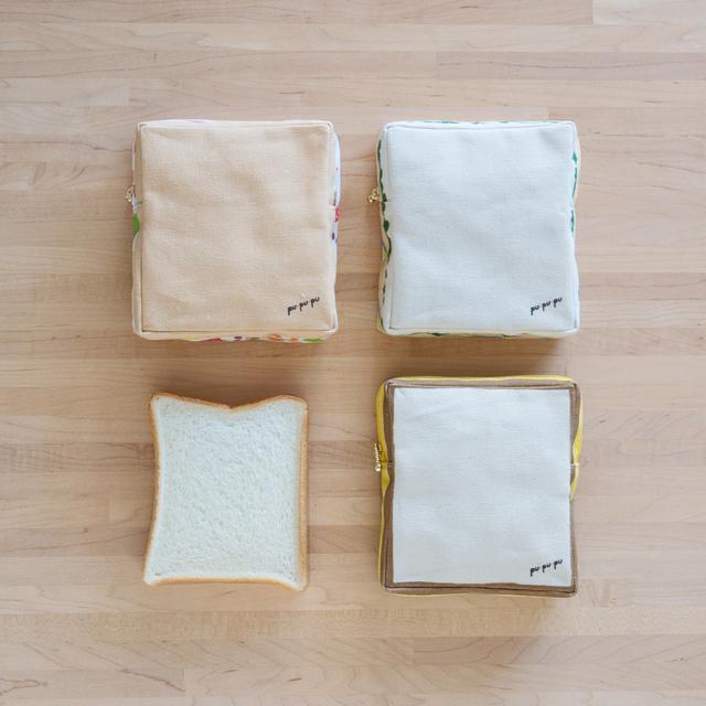 食パンのサンドイッチポーチ 第1弾