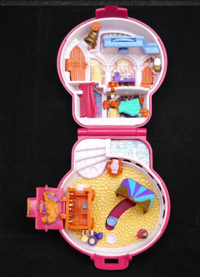 ポーリーポケット ディズニー  ノートルダムの鐘のコンパクト 完品