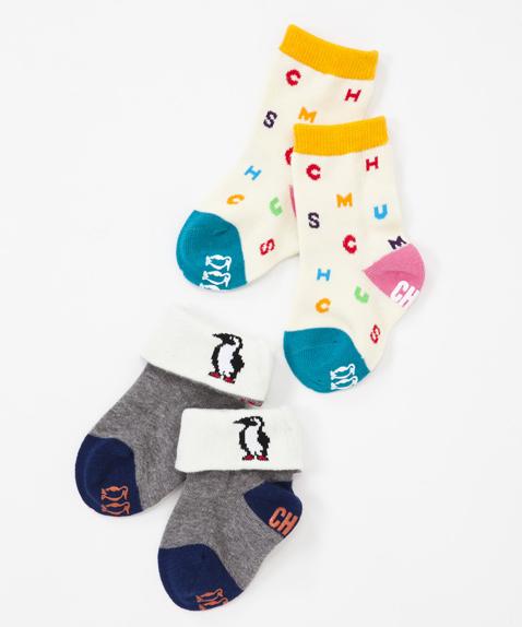 CHUMS(チャムス) Baby Booby Socks(ベイビーブービーソックス) A set