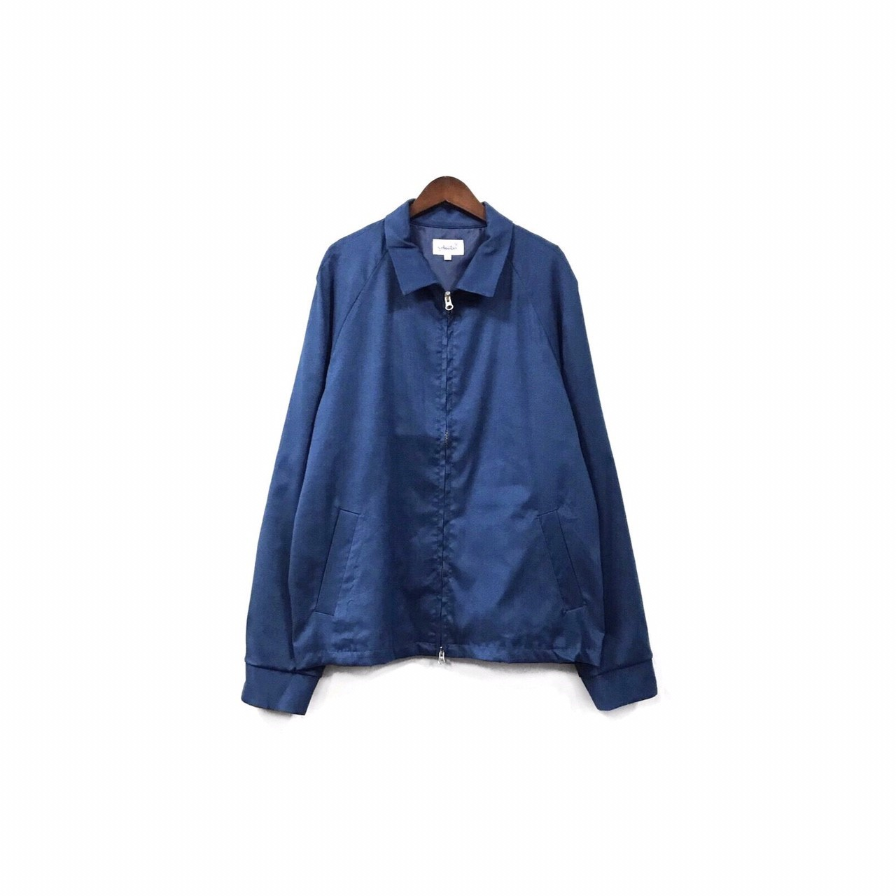 yotsuba - Fake Suede Swingtop Jacket / Blue ¥34000+tax