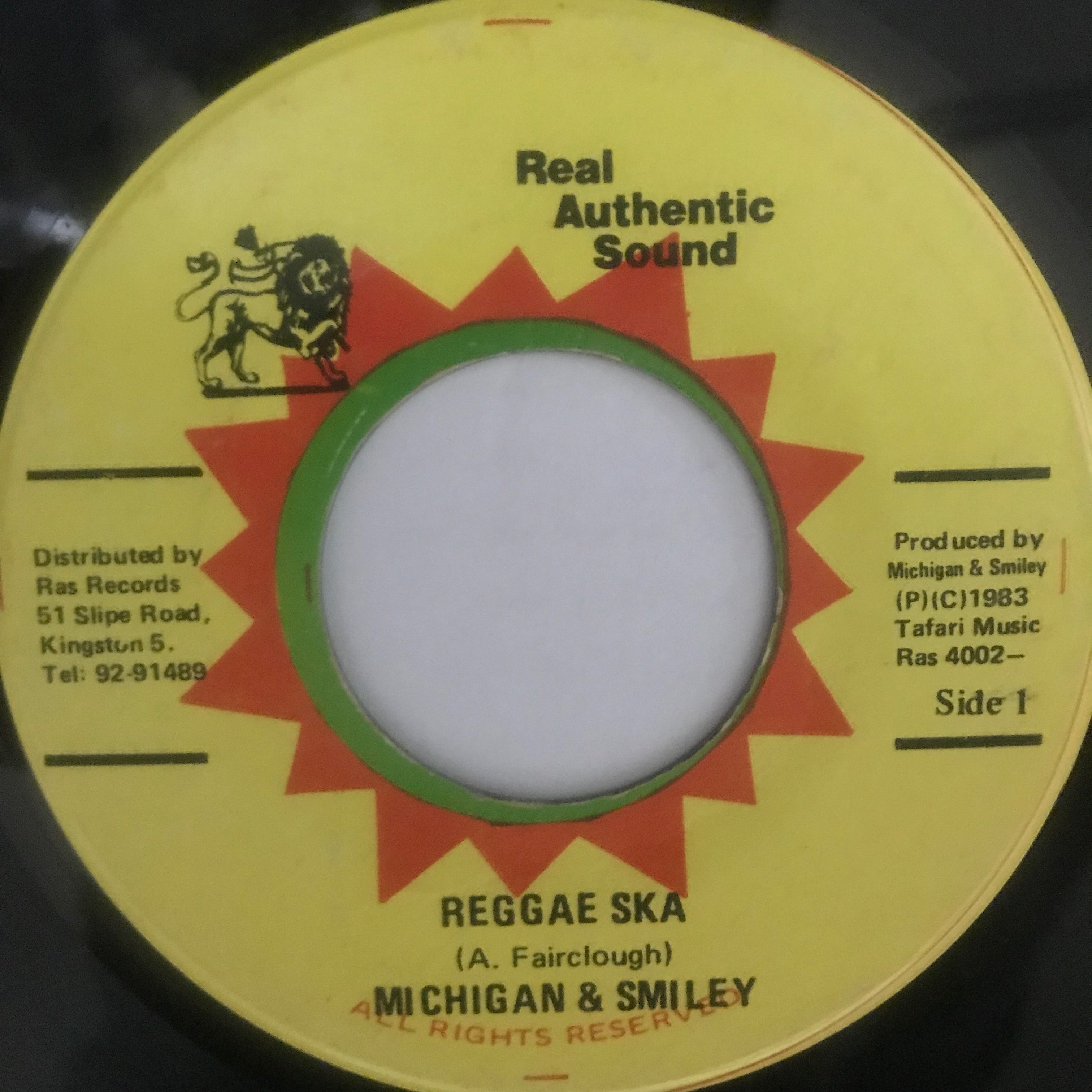 Michigan & Smiley - Reggae Ska【7-10775】