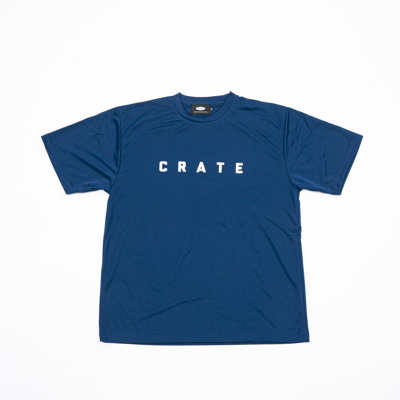 CRATE MESH T-SHIRTS NAVY