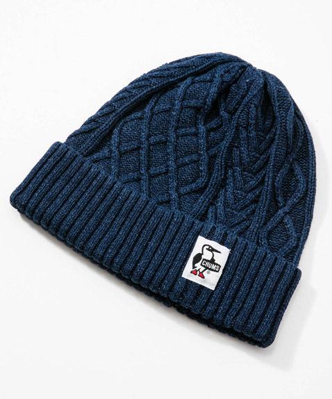 CHUMS(チャムス) Indigo Knit Cap (インディゴニットキャップ) Indigo (インディゴ) CH05-1091