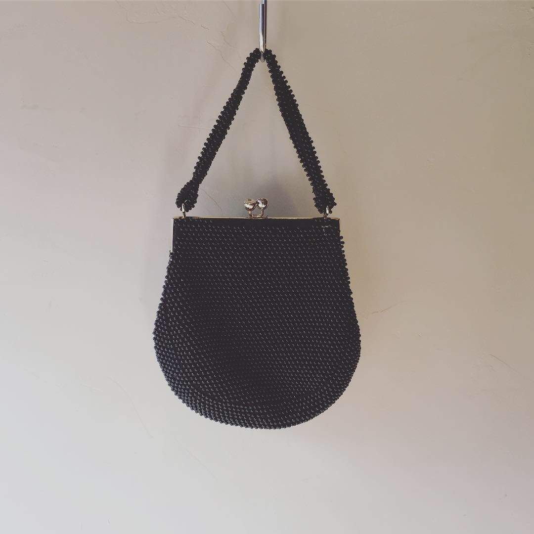 vintage beads bag