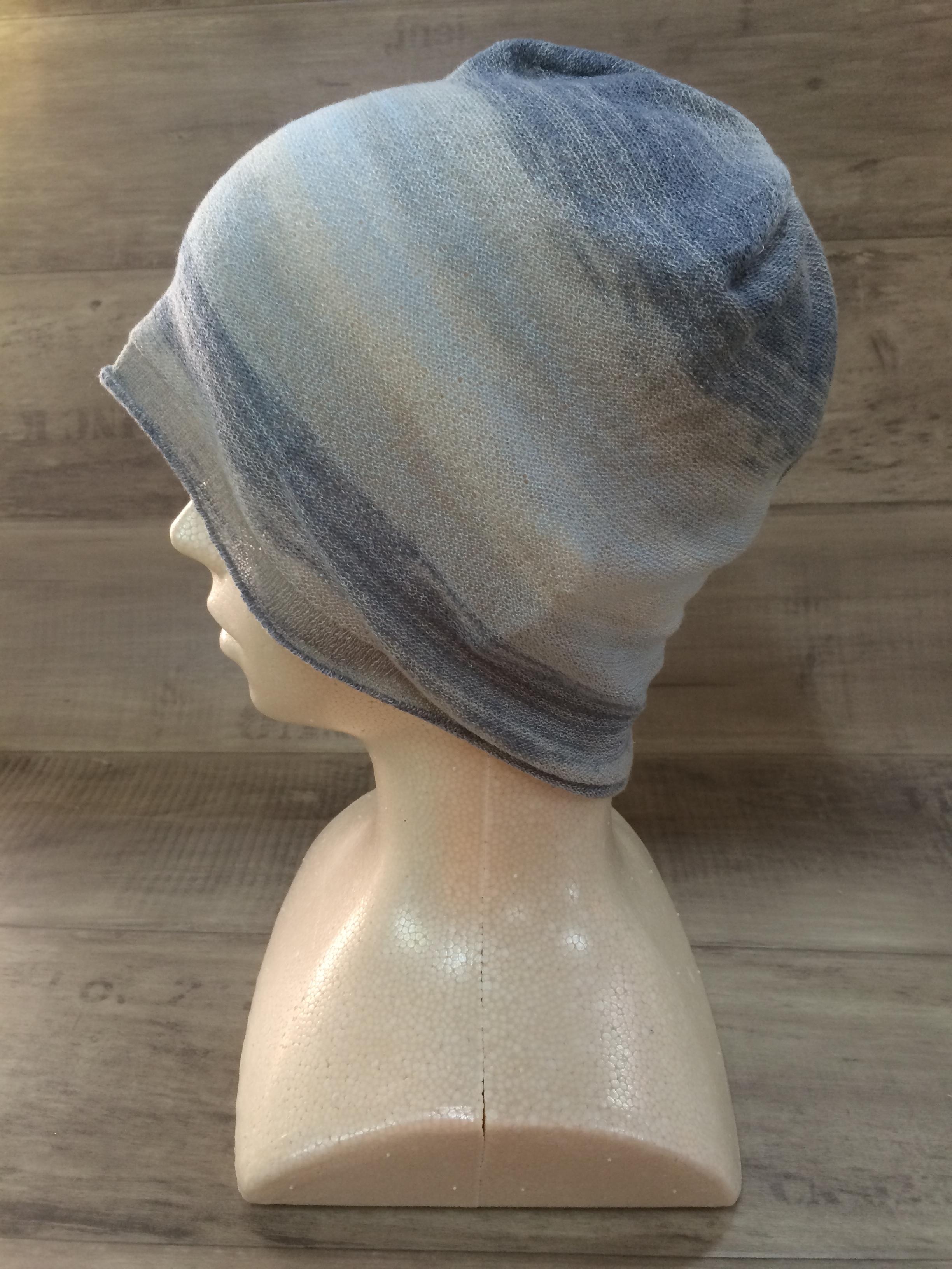 【送料無料】こころが軽くなるニット帽子amuamu|新潟の老舗ニットメーカーが考案した抗がん治療中の脱毛ストレスを軽減する機能性と豊富なデザイン NB-6059|空の海(そらのうみ)