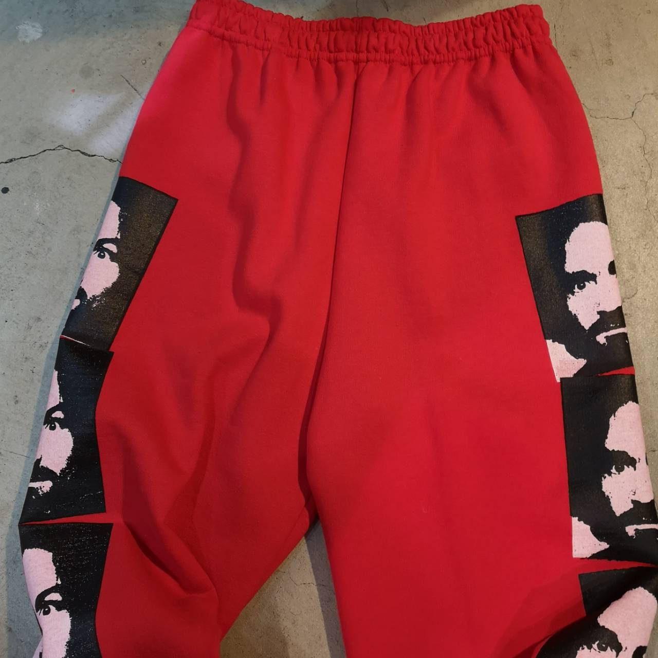 ||||| MANSON SWEAT PANTS RED, BLK