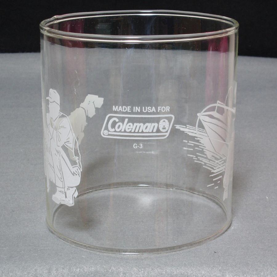 コールマン #4 ランタン ガラスグローブ Made in USA! 288・286・282・214等に最適!新品未使用品!