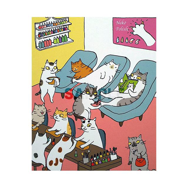 台湾ポストカード「彩繪貓爪」