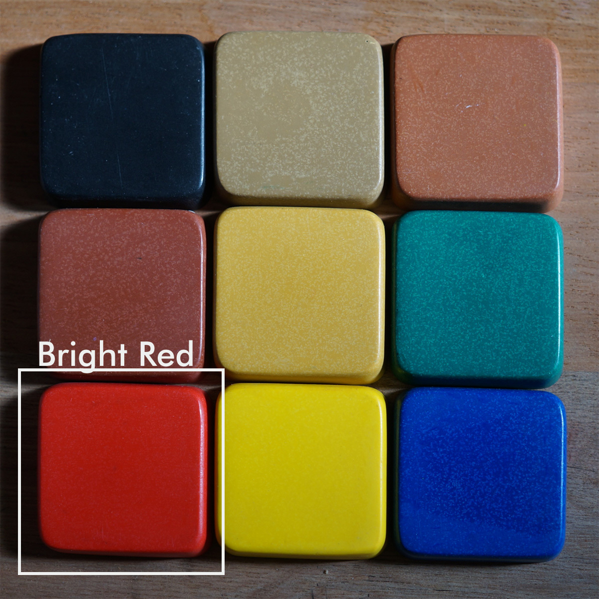 PIGMENT BRIGHT RED 200g(着色剤:赤 200g) - 画像2