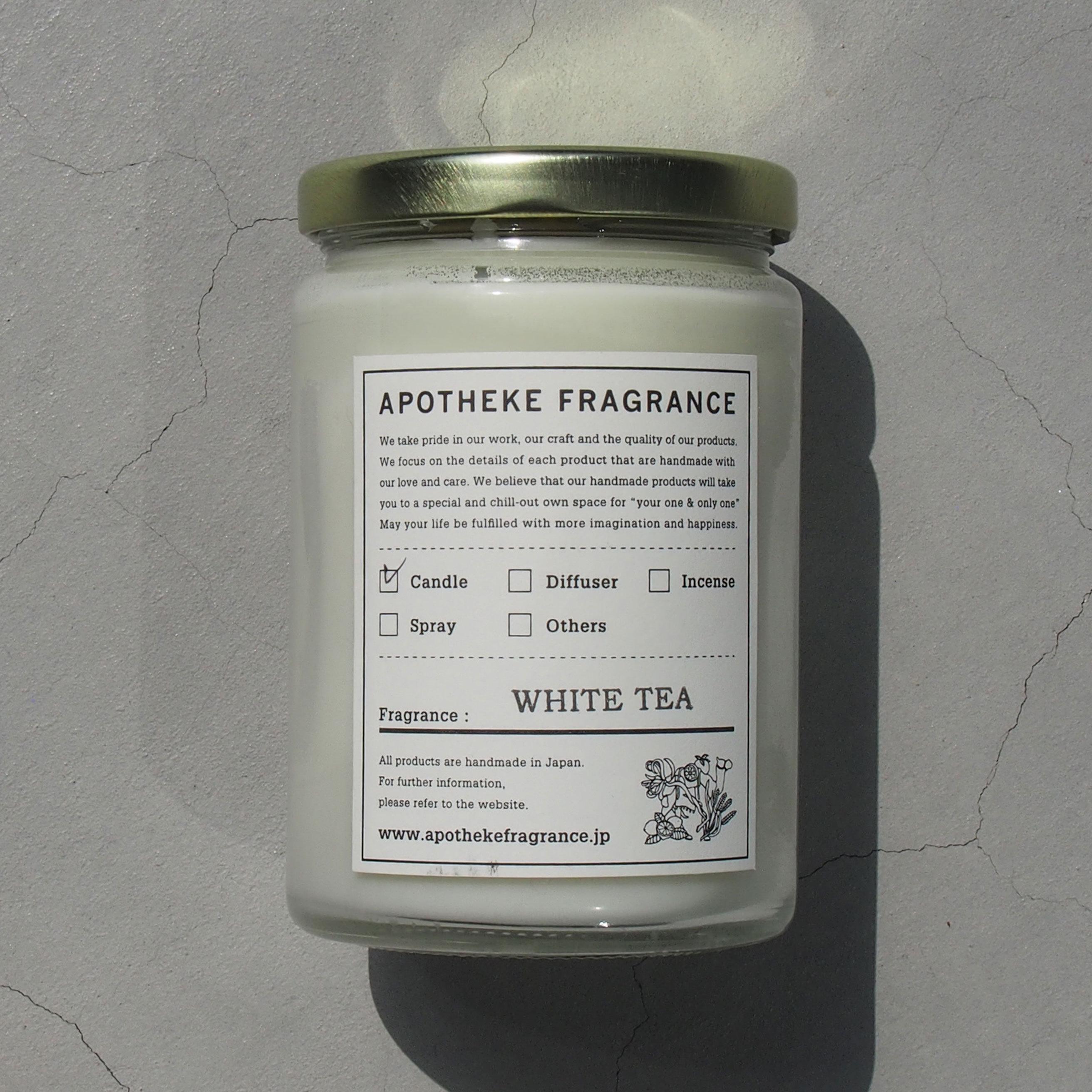 APOTHEKE FRAGRANCE GLASS JAR CANDLE