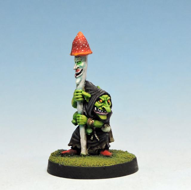 ドゥームゴブリンの兵長、まじない師と指揮部隊(4体) - 画像3
