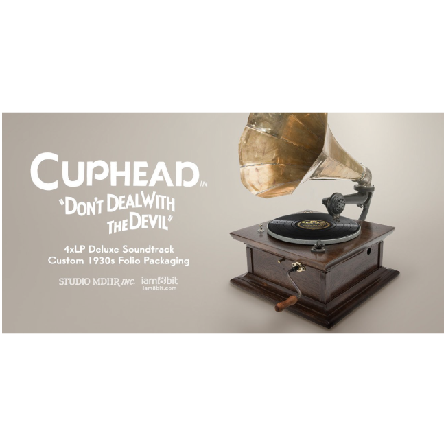 【Cuphead(カップヘッド)】レコード・セット(4LP) - 画像3