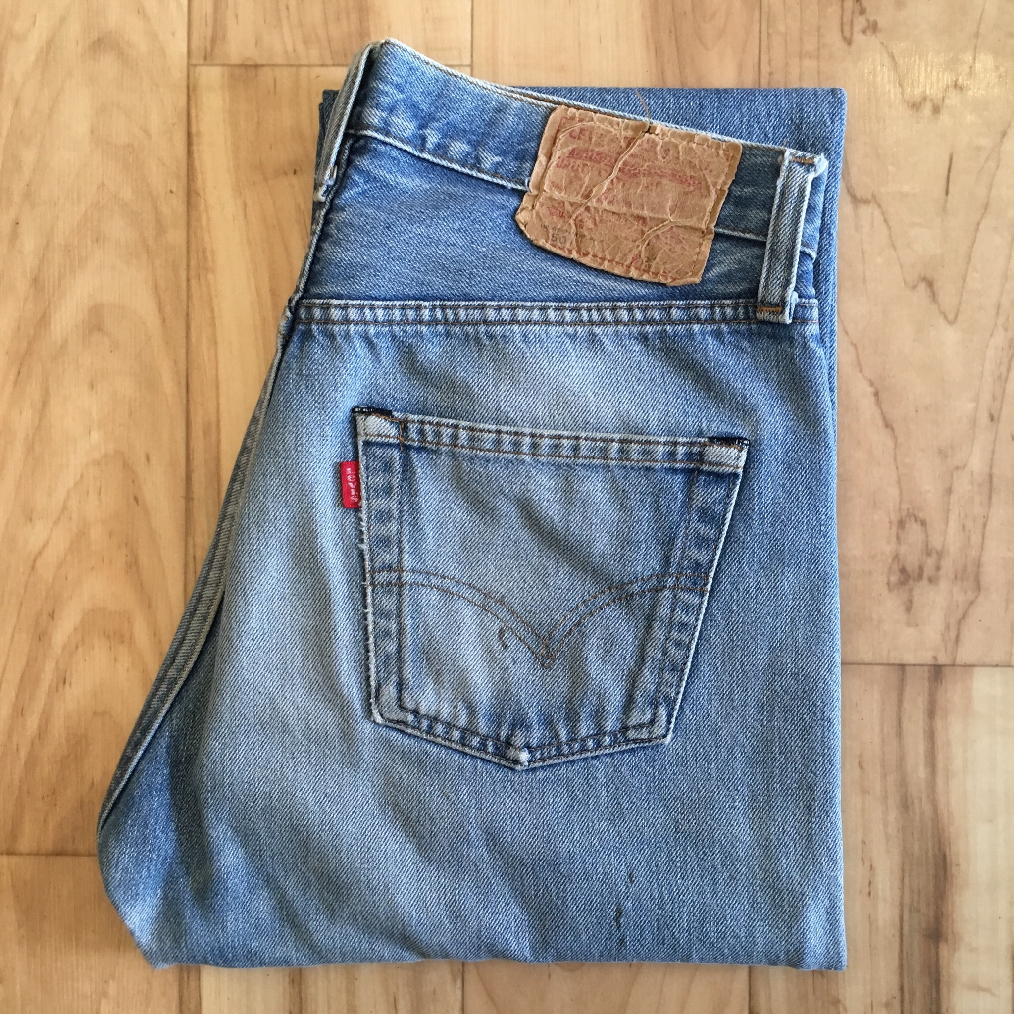 "Levi's 70's  501 REDLINE ""Made in USA"""