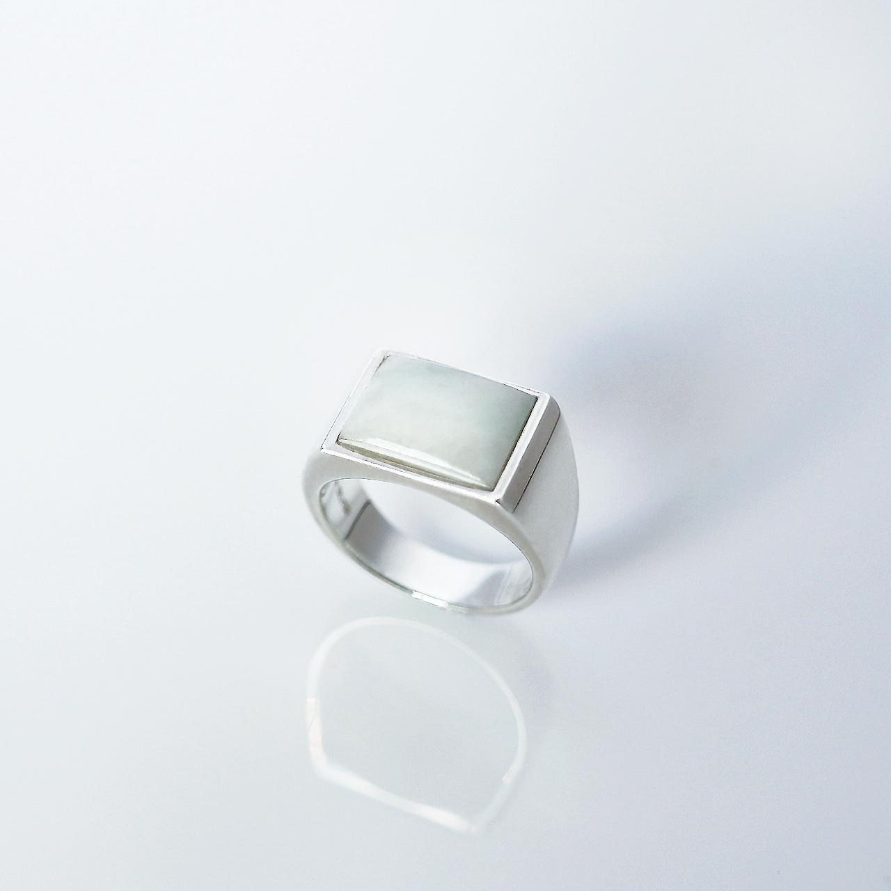 HISUI 'SHIKAKU'  / Ring (White)
