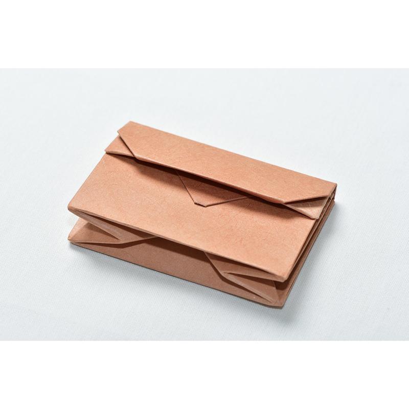 オリンモ(オリガミ×小国和紙 カードケース)(Color:シブ)
