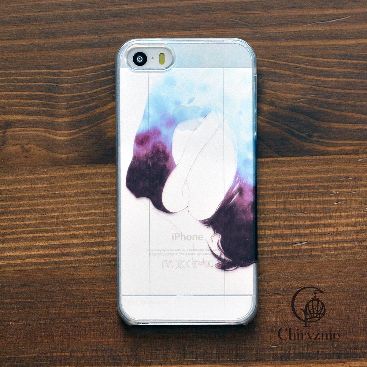 【BASE限定】アイフォンse ケース クリア iPhoneSE クリアケース キラキラ かわいい 孵化/Chiryzmo
