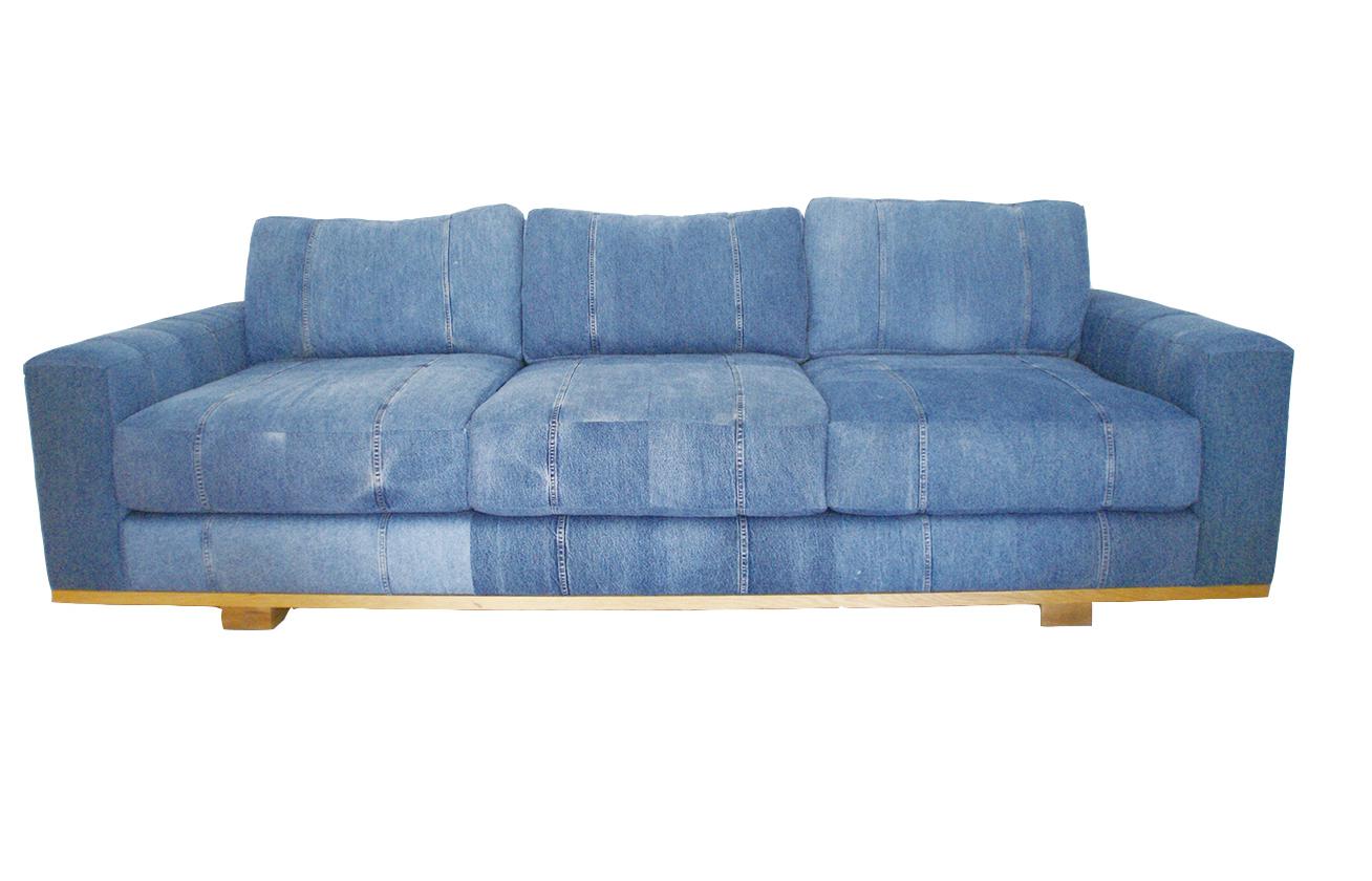 Shelter Half Denim Sofa シェルターハーフデニムソファ Made in USA