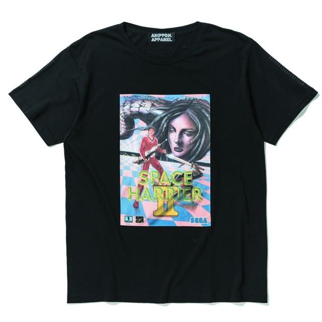 SEGA レトロTシャツ スペースハリアー2 / ANIPPON