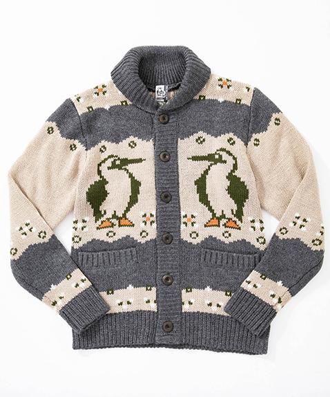 CHUMS(チャムス) Park City Cowichan Jacket (パークシティカウチンジャケット) H/Charcoal (H/チャコール) CH04-1121