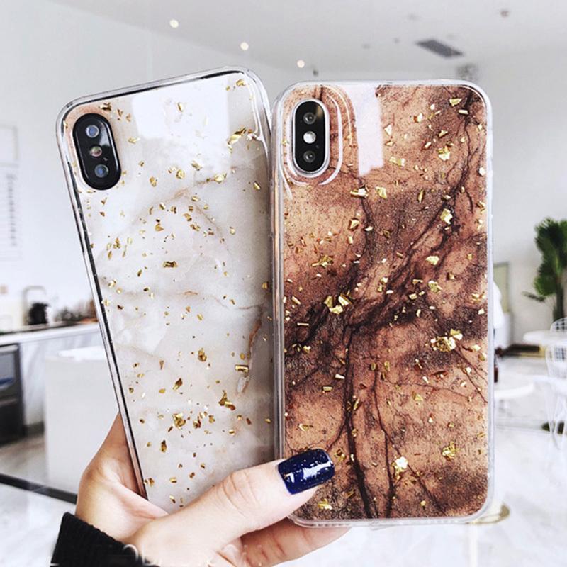 【お取り寄せ商品、送料無料】お洒落な大理石風マーブル柄 iPhoneケース  iPhoneXsMAX、iPhoneXR