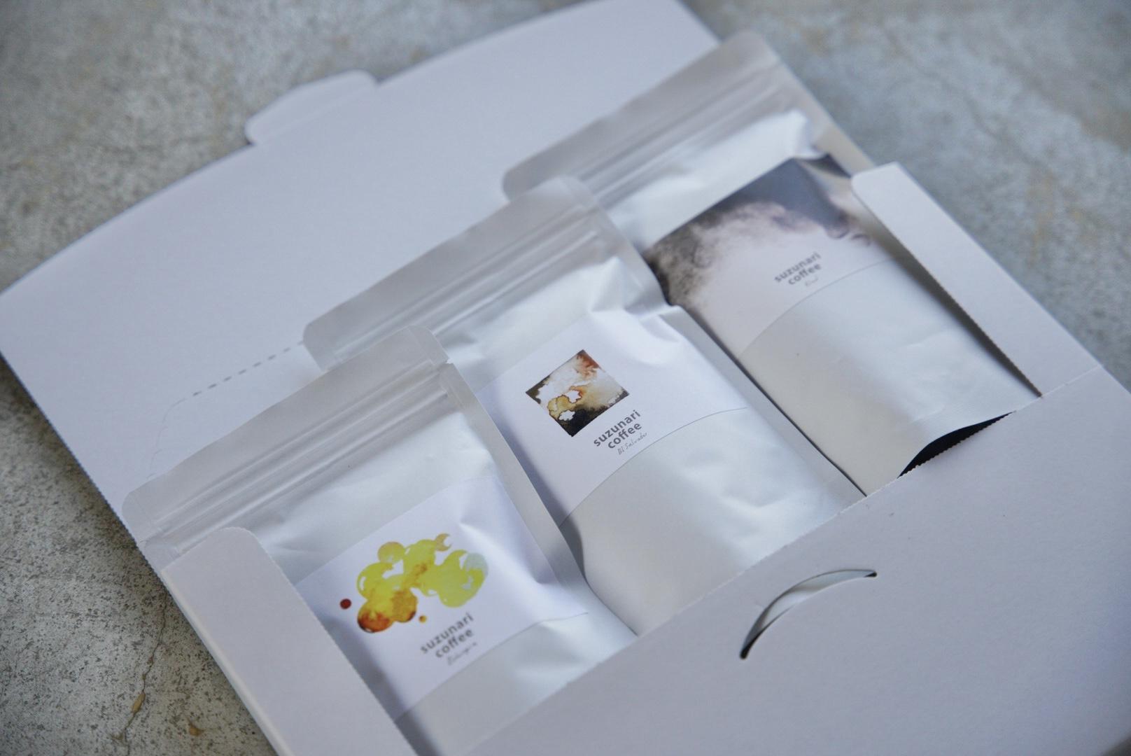 【ONLINE SHOP限定】suzunariセット 100g × 3種