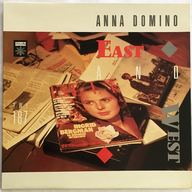 【12inch・ベルギー盤】Anna Domino / East and West