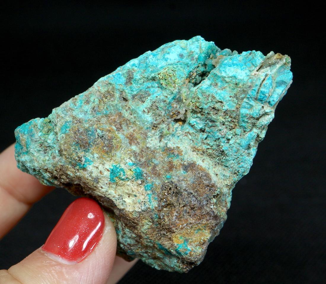 自主採掘!クリソコラ 珪孔雀石 カリフォルニア州  72,9g CHS027  鉱物 天然石 原石 パワーストーン