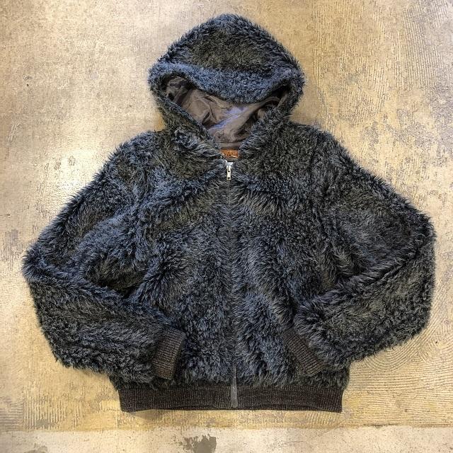 Vintage Fur  Hoodie