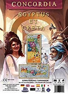 コンコルディア拡張 エジプト・クレタ