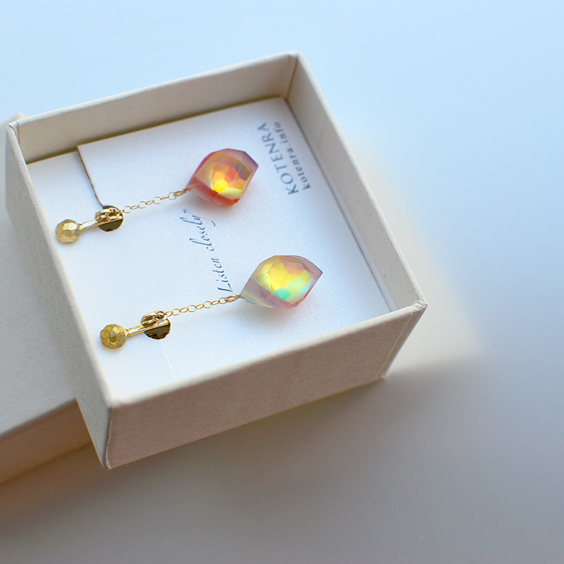 Art opal jewelry ピアス⇄イヤリング