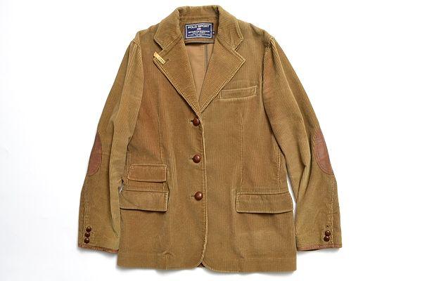 POLO SPORT Ralph Lauren size11 elbow putch couduroy jacket