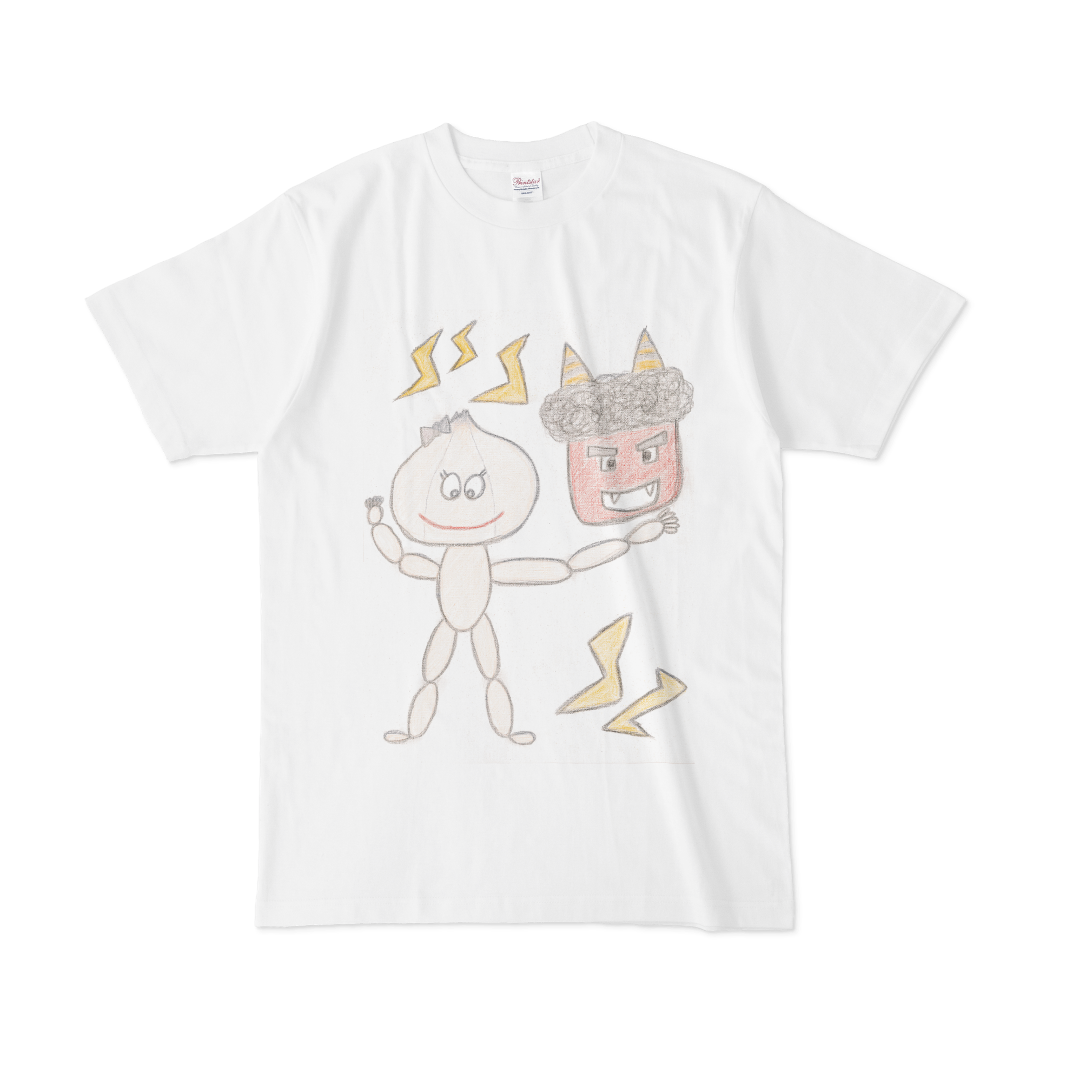 【税込・送料無料】黒姫ももかデザインTシャツ「鬼オン」