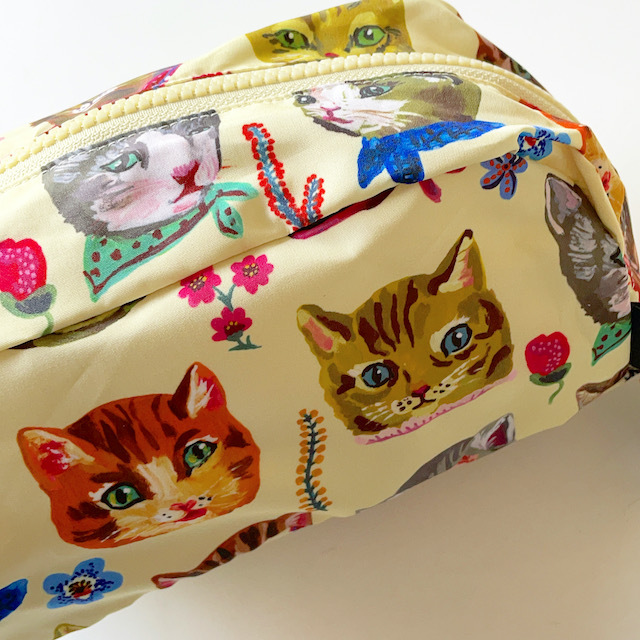 Nathalie Lete Oblong pouch Cat ナタリーレテ ポーチ 猫 ねこ