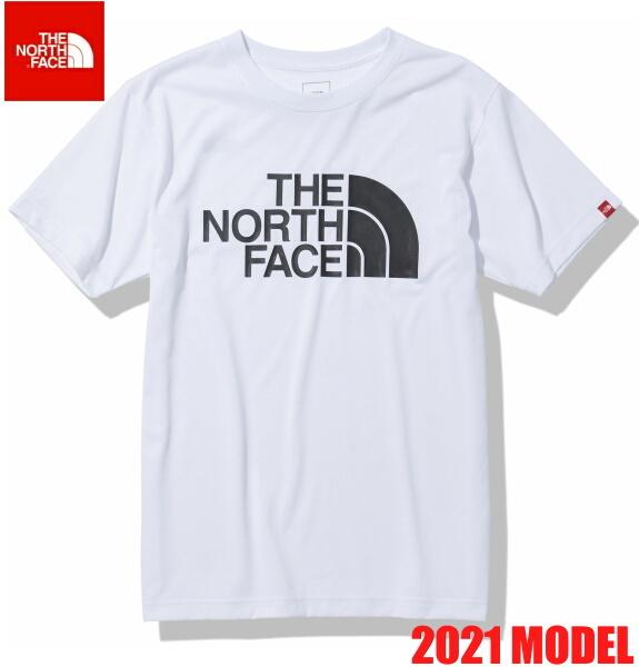 ノースフェイス 半袖 Tシャツ メンズ THE NORTH FACE ショートスリーブカラードームティー 2021年モデル NT32133 ホワイト