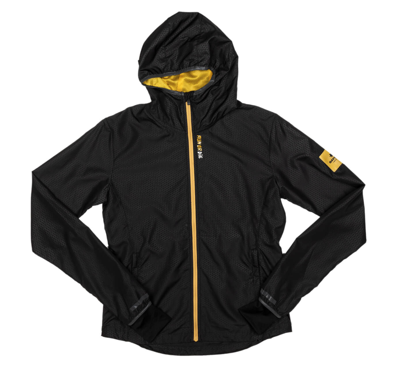【NEW!】SAYSKY セイスカイ ランニングジャケット Wmns Run Or Die Pace Jacket - BLACK EMBOSSED [レディーズ] FGRJA02