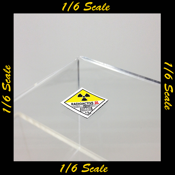 【01783】 1/6 Easy & Simple 放射性警告パッチ