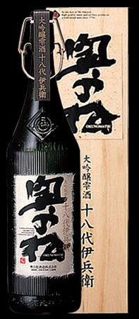 【化粧箱入り】奥の松 大吟醸雫酒 十八代伊兵衛 1800ml