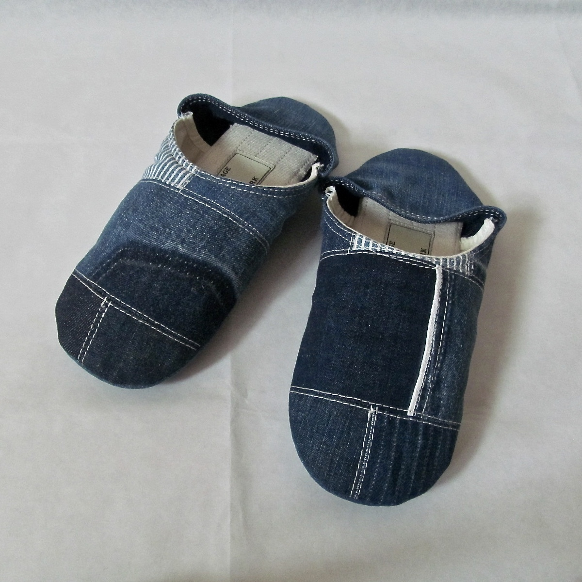 DENIM PATCHWORK ROOMSHOES(S)