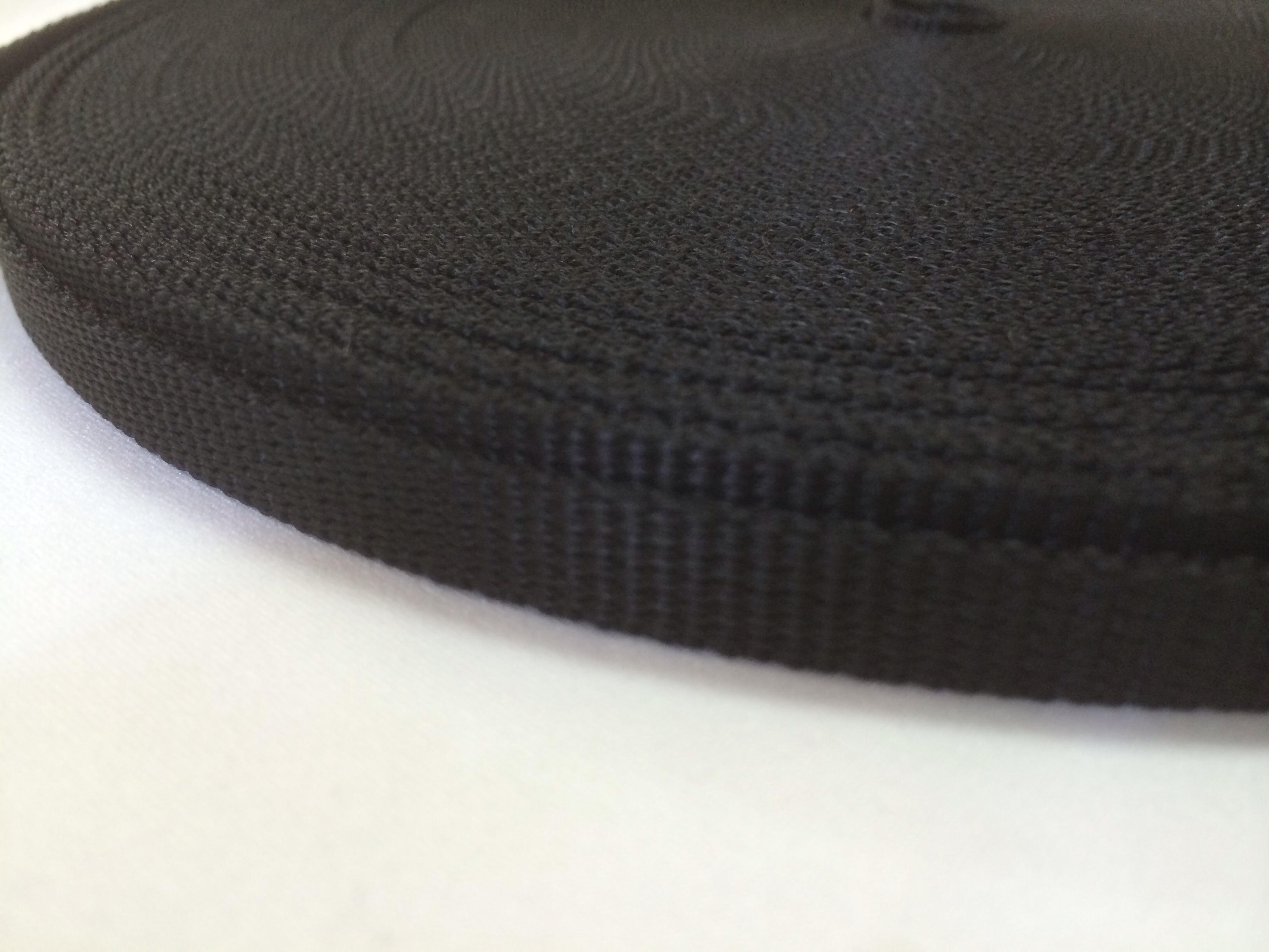 PPテープ 10mm幅 1.3mm厚 黒 50m