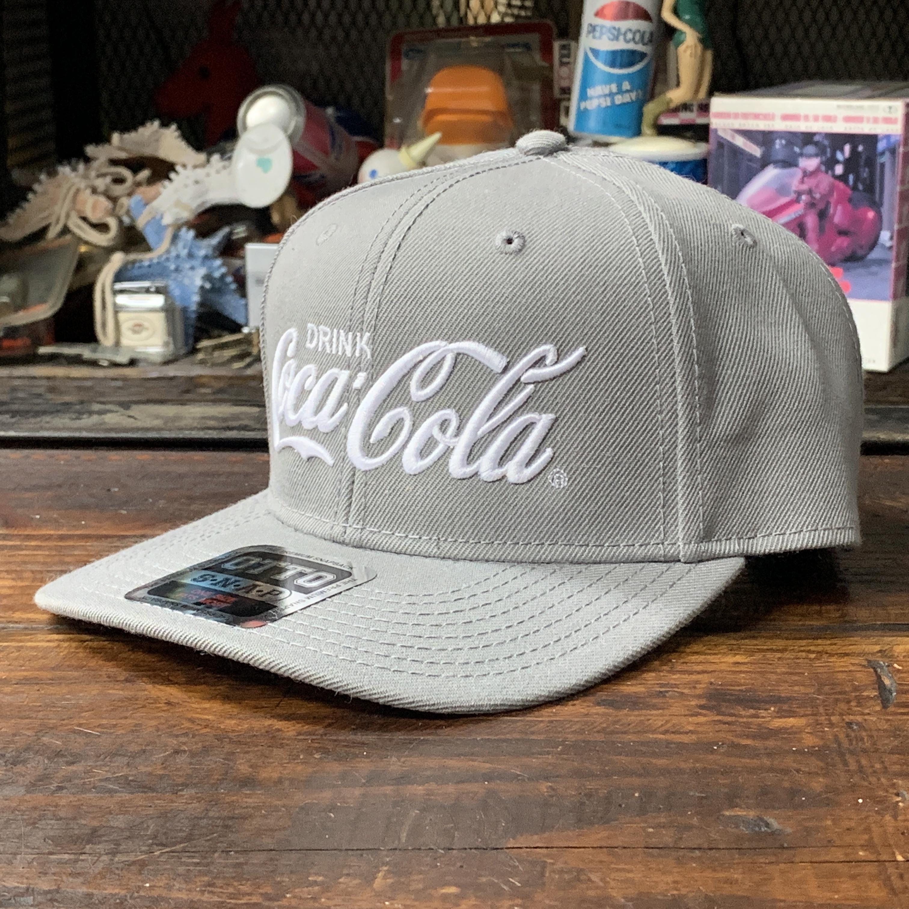 コカ・コーラ x OTTO・ウールブレンド・ツイルキャップ・グレー