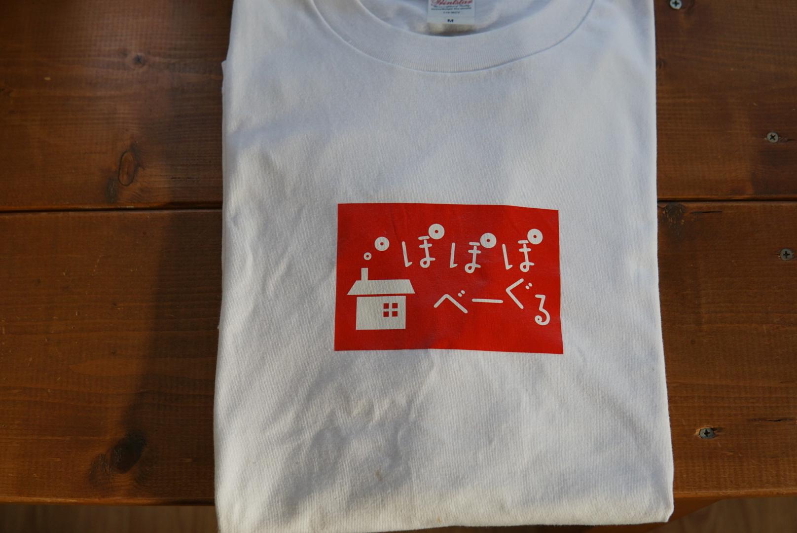ぽぽぽTシャツ