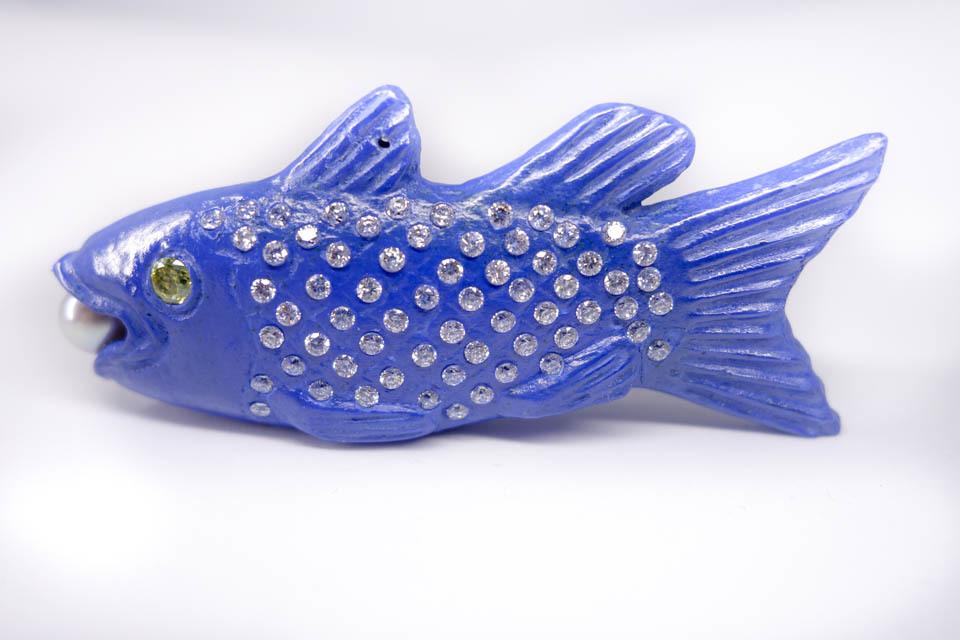魚板(ラピスラズリ色)A-5