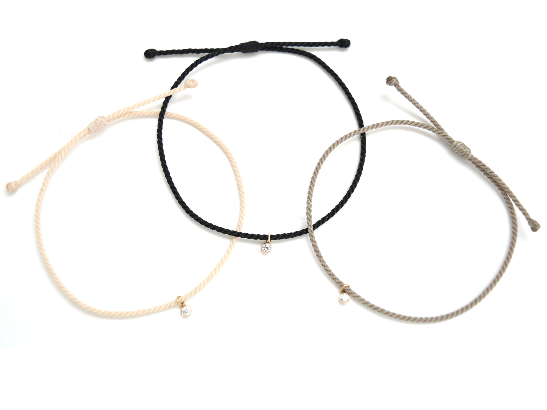 《niruc×KnottWorks》K10YG CZ Bracelet