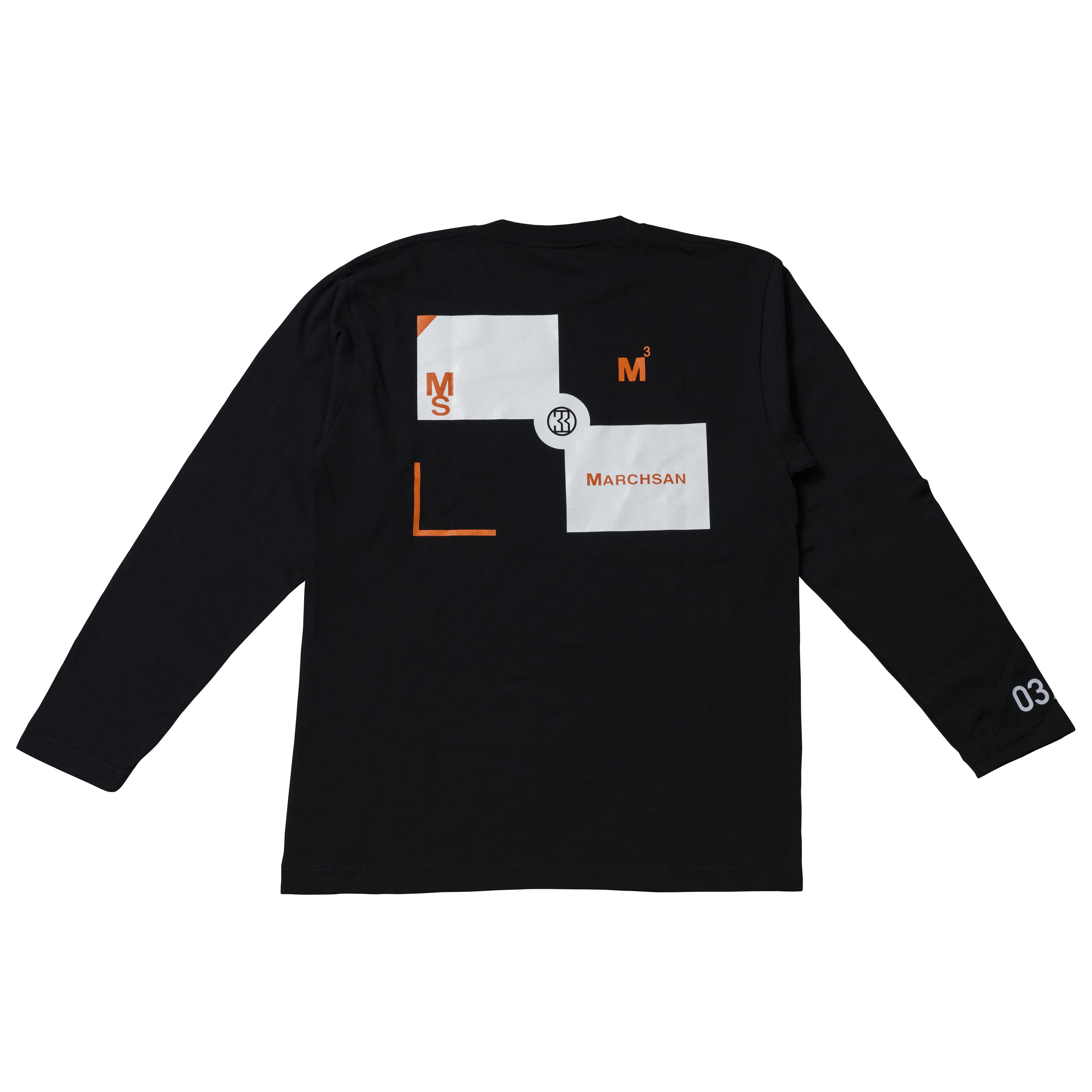 TARGET LongsleeveT-shirt B-003(black)