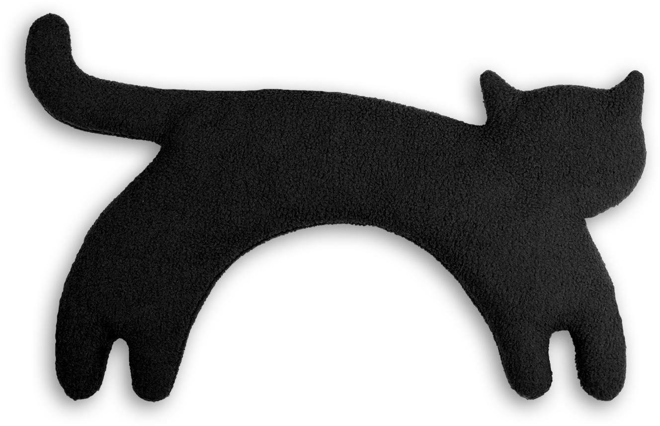 Leschi ネックウォーマー(ネコ) ブラック