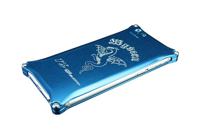 iPhone 6/6s用 ワイバン スマートフォンケース ブルー[XXSP-0001-BU]
