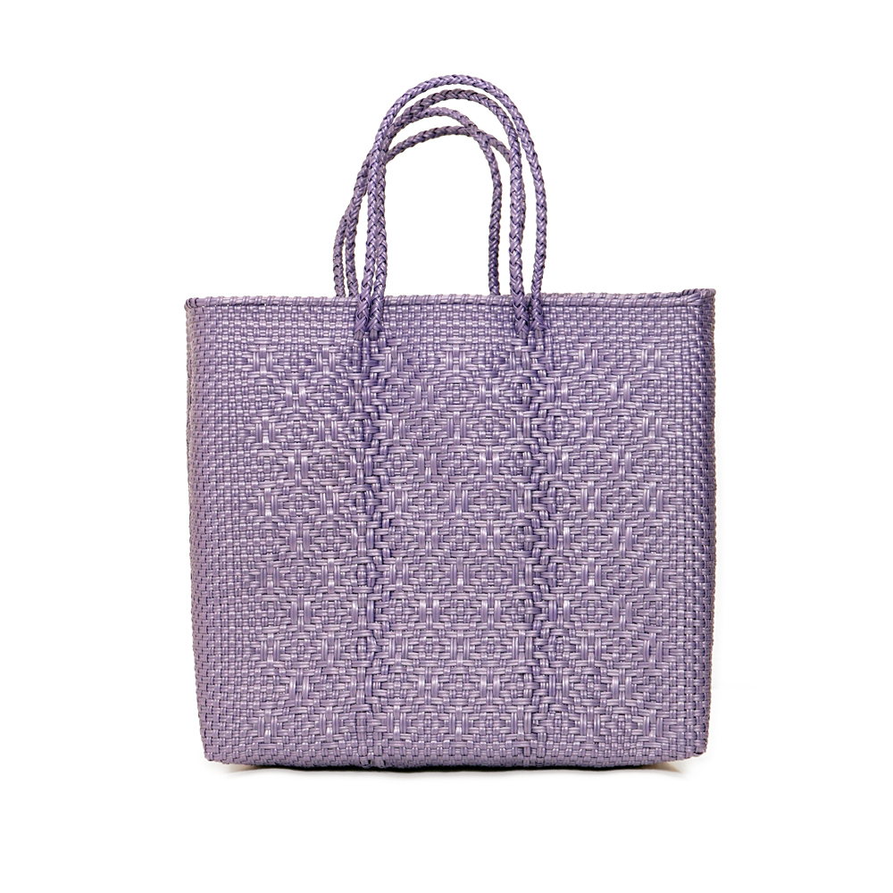 MERCADO BAG ROMBO  - Purple (M)
