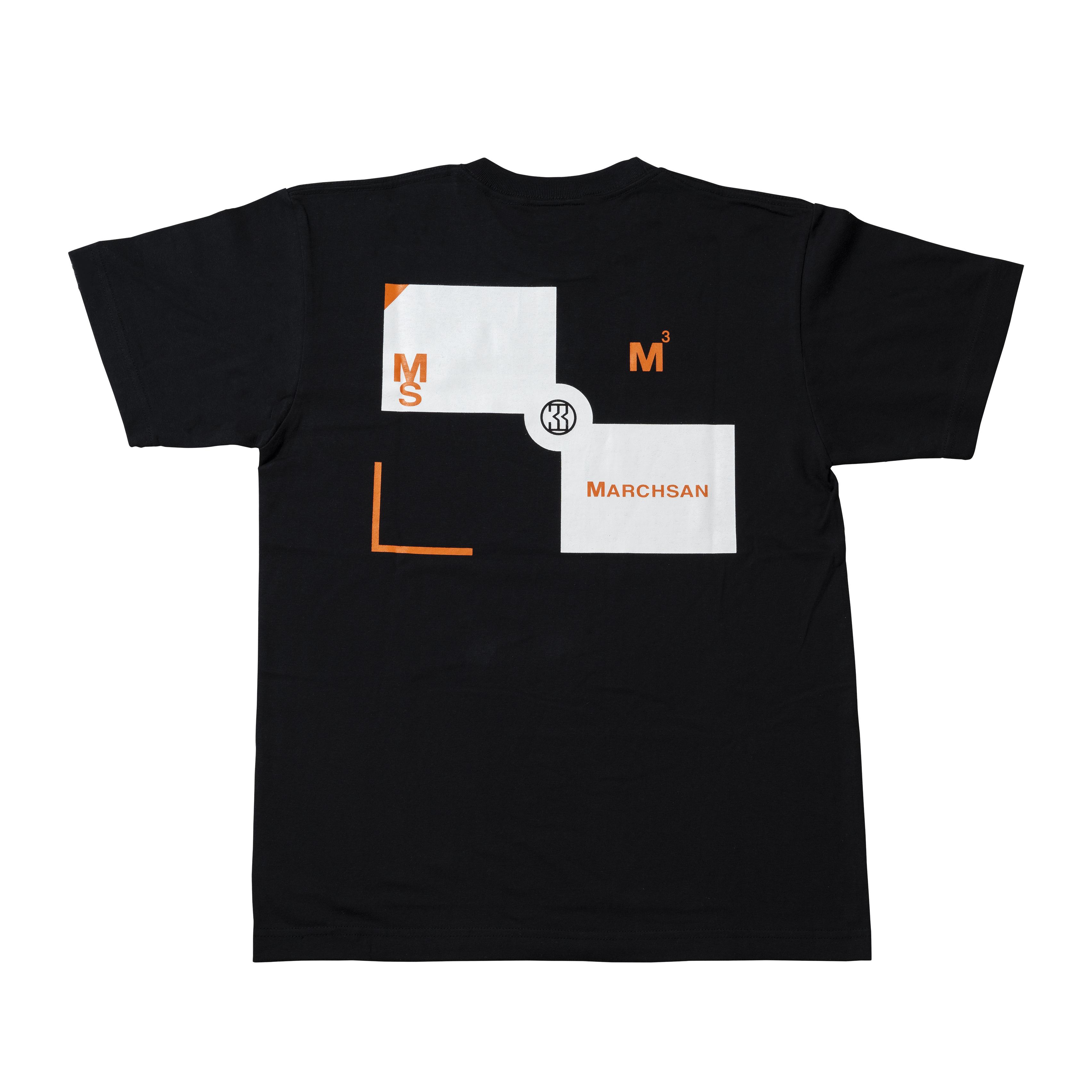 TARGET T-shirt 004(black)