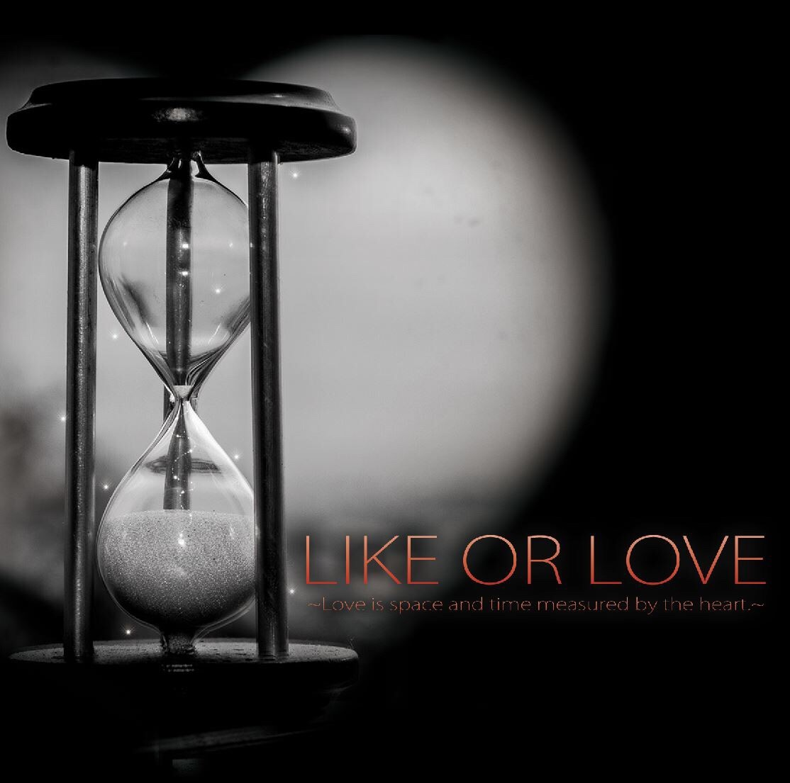 LIKE OR LOVE ~Love is space and time measured by the heart.~